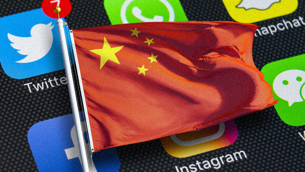 Image: Big tech's truth overlords, all truth must go through China